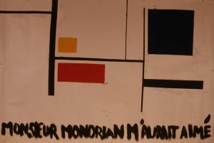 (MISTER MONDRIAN WOULD HAVE LOVED ME)