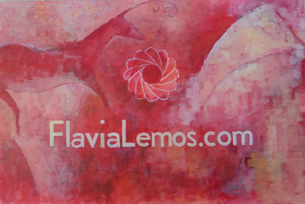 Acrylic on Canvas. 24x 48 inches.